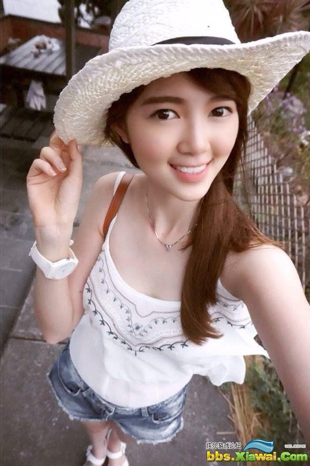 2014全台校园美女选拔冠军 大马正妹模特儿陈宇馨