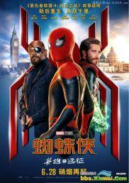 2019年美国7.9分动作科幻片《蜘蛛侠:英雄远征》BD中英双字